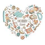 Hobby poster Stock Photo