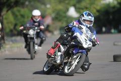 Hobbyist motor racing Stock Photos