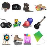 Hobbys Royalty-vrije Stock Foto's