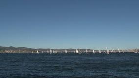 Hobert la capital de la isla de Tasmania en Australia metrajes