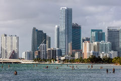 Hobie Beach in Miami, Florida Stock Images