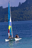 Hobie Cat Stock Image
