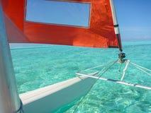 Hobie Cat Sailing royalty-vrije stock foto
