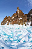 Hoboi udde på Baikal sjön fotografering för bildbyråer