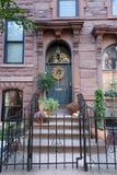 Hoboken Autumn Decorating fotografía de archivo