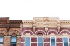 Hoboken historic building. Close up of historic buildings in Hoboken, New Jersey stock images