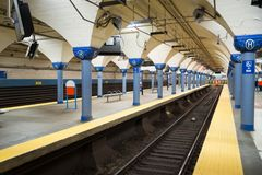 Hoboken Path Station stock photography