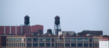 Hoboken skyline Royalty Free Stock Images