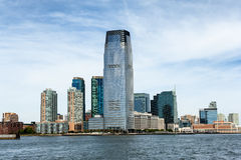 Hoboken Skyline Royalty Free Stock Photo