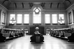Hoboken slutligt väntande rum royaltyfri foto
