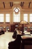 Hoboken slutligt väntande rum royaltyfria foton
