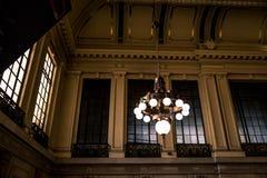 Hoboken stacja 01 Obraz Royalty Free