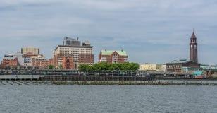 Hoboken stadsikt Arkivfoton