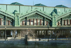 Hoboken Terminal New Jersey USA Royalty Free Stock Images