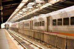 hoboken terminalen Arkivfoto