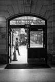 Hoboken terminalpendlare arkivfoto