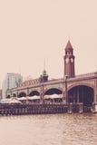 Hoboken terminalyttersida arkivfoto