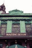 Hoboken terminalyttersida fotografering för bildbyråer