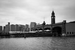 Hoboken terminalyttersida royaltyfri foto