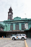 Hoboken Train and Ferry Terminal stock image