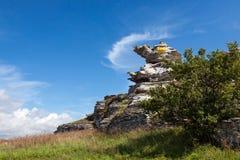 Hoburgen - Felsen Stockfotos