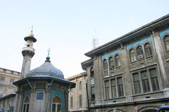 Hobyar Mosque and The Istanbul Main Post Office Stock Image