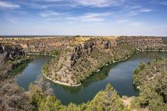 Hoces del Duraton, Segovia España imagen de archivo libre de regalías