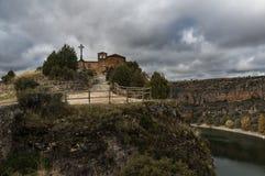 Hoces del Duraton, Segovia, Espain immagine stock