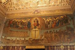 Hoch ändern Kathedrale Stockfoto
