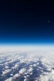 Hoch über den Wolken Lizenzfreies Stockfoto