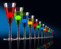Hoch entwickelte Cocktails lizenzfreies stockfoto