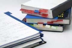 Hoch entwickeltes Mathe und Buch Stockbilder