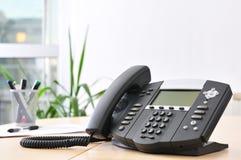 Hoch entwickeltes VoIP Telefon Stockbilder