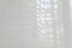 Hoch-Schlüsselfoto eines weißen Netzes Stockfotografie