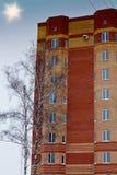 Hoch-Setzstufe Stockfoto