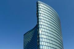 Hoch Zwei Biuro Górujący OMV Firma W Wiedeń (HOCHZWEI) Obraz Stock