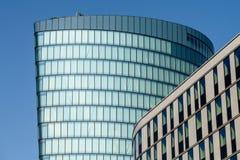 Hoch Zwei (HOCHZWEI) Office Tower Of OMV Company在维也纳 库存图片