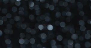 Hochauflösende Lichter verwischten bokeh abstrakte Hintergründe stock footage