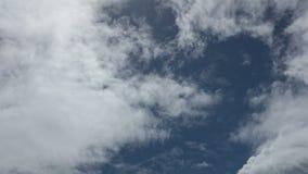 Hochauflösende Zeitspanne Cloudscape stock video