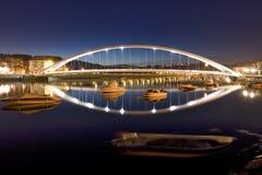 Hochbau Brücke Stockbild