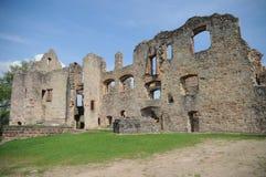 Hochburg城堡废墟 库存图片