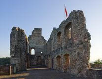 Hochburg Emmendingen at evening time Royalty Free Stock Photo
