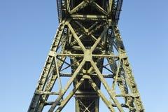 Hochdonn - Rail bridge over the Kiel Canal Stock Photography