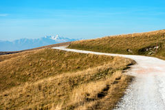 Hochebene von Lessinia und von italienischen Alpen Lizenzfreie Stockbilder
