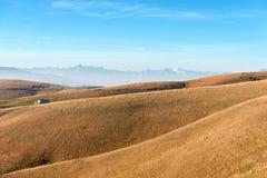 Hochebene von Lessinia und von italienischen Alpen Lizenzfreies Stockbild