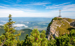 Hochfeln Summit Royalty Free Stock Photography