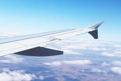Hochfliegender Flügel Lizenzfreies Stockbild