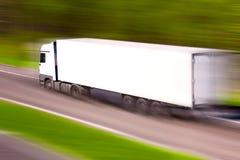 Hochgeschwindigkeits-LKW Stockfoto