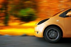 Hochgeschwindigkeitsauto Lizenzfreie Stockbilder
