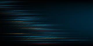 Hochgeschwindigkeitsbewegungsdesign High-Tech Abstrakter Technologie-Hintergrund Auch im corel abgehobenen Betrag vektor abbildung